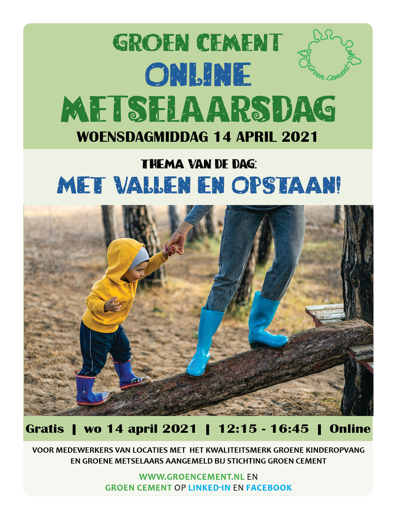 Save the date Metselaarsdag 2021 Online 1