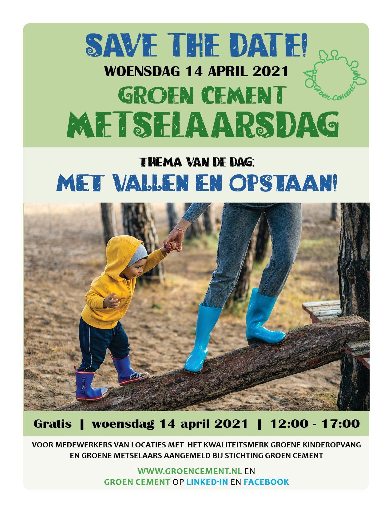 Save the date Metselaarsdag 2021 1
